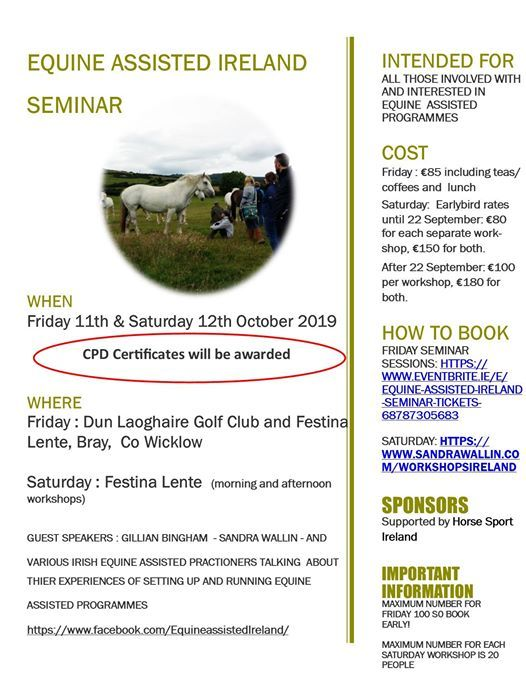 Equine Assisted Ireland Seminar