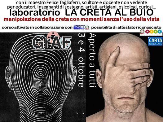 La CRETA Al BUIO a Roma - lab con il maestro Felice Tagliaferri