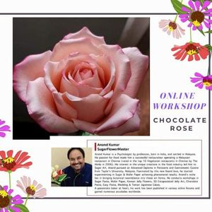 Online Chocolate Flowers Class-Memory Lane Rose Rose Bud & Rose Leaf by Anand Kumar