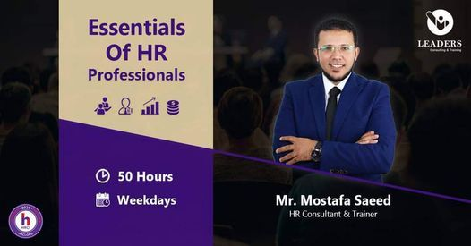 Essentials of HR Professionals Course - Masr El-Gedida, 31 May | Event in Cairo | AllEvents.in