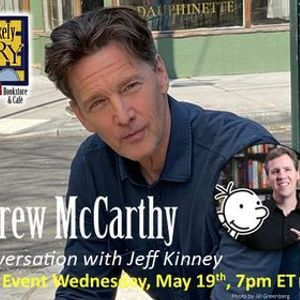 Andrew McCarthy with Jeff Kinney - Registration Required