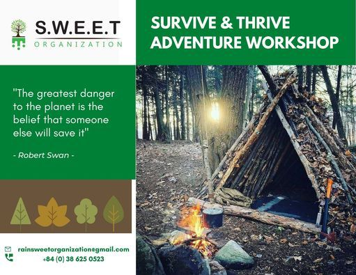 Survive & Thrive Adventure Workshop for Kids!, 16 May | Event in Danang | AllEvents.in