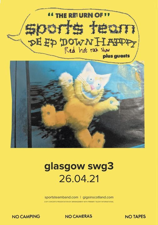 DF Concerts Presents Sports Team, 26 October   Event in Glasgow   AllEvents.in