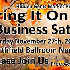 2nd ANNUAL Bring It On Small Business SATURDAY