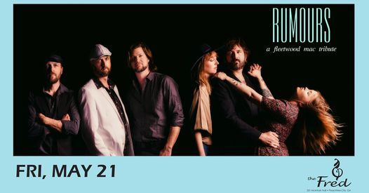 Rumours - A Fleetwood Mac Tribute, 21 May | Event in Peachtree City | AllEvents.in