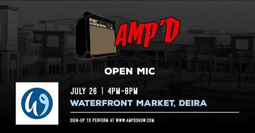 Ampd Open Mic at Waterfront Market Dubai #60 | Dubai