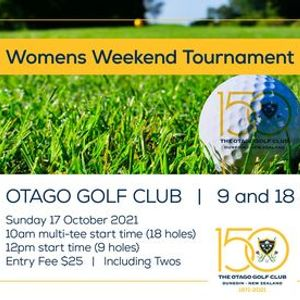 Otago Golf Club Womens Weekend Tournament