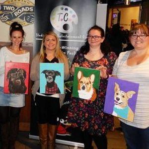 Bellefonte Paint your Pet Portrait Wilmington