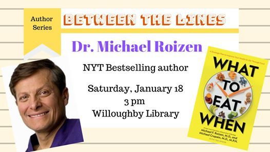 Dr. Michael Roizen 1 NY Times Bestselling Author