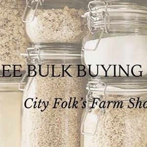 Free Bulk Food Buying Demo at City Folks Farm Shop