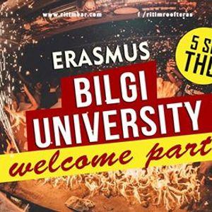 Erasmus Bilgi University Welcome Partyritim