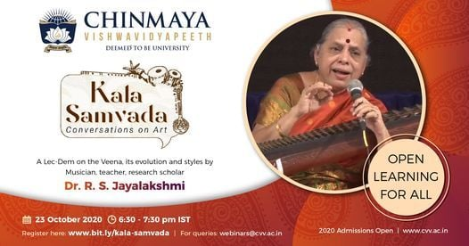 KALA SAMVADA—CONVERSATIONS ON ART, 23 October | Online Event | AllEvents.in