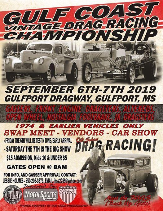 Gulf Coast Vintage Championship at Gulfport Dragway, Gulfport