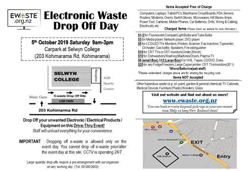 E-day Drop Off Day in Selwyn College
