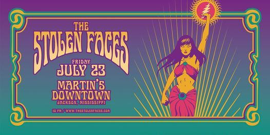 The Stolen Faces at Martin's Downtown in Jackson, MS!, 23 July   Event in Tougaloo   AllEvents.in