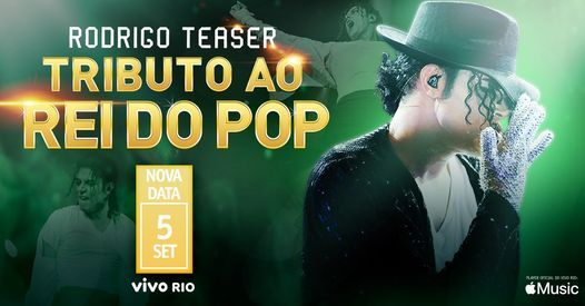 Tributo ao Rei do Pop com Rodrigo Teaser  5 SET Nova data