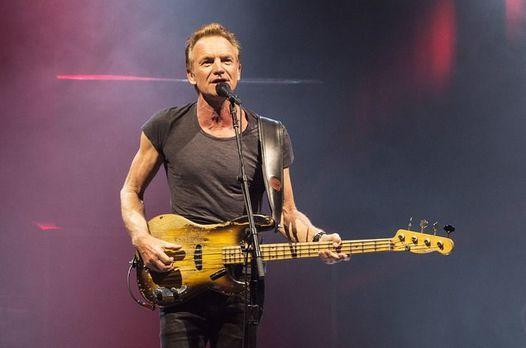 Sting en concert  Orleans en octobre 2019