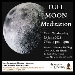 Full Moon Meditation for May