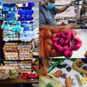 M&S Schmalberg NYCs Last Custom Fabric Flower Factory Webinar