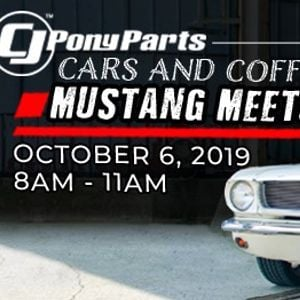 CJs Cars and Coffee Meet at CJ Pony Parts, Harrisburg