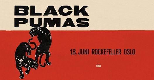 Black Pumas / Rockefeller, 18 June   Event in Oslo   AllEvents.in