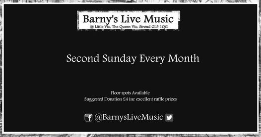 Barnys Live Music with guest artist -