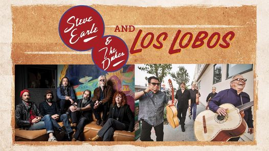 Steve Earle & Los Lobos, 27 August | Event in Doswell | AllEvents.in