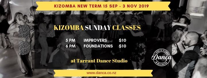 Kizomba Sunday Classes (New Term)