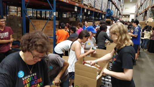 Volunteer at the Houston Food Bank