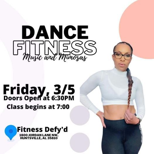 Dance Fitness Friday - Zumba with Bev, 5 March | Event in Huntsville | AllEvents.in