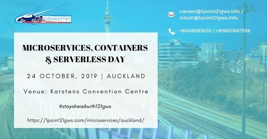Microservices Containers & Serverless Day