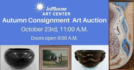 2021 Autumn Consignment Art Auction, 23 October   Event in Hutchinson   AllEvents.in