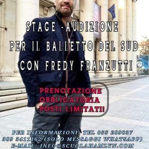 StageAudizione danza Balletto del Sud di F. Franzutti