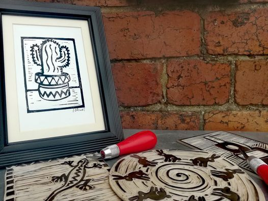 Introduction to Lino Printing with Dave Elsom, 3 December | Event in Sheffield | AllEvents.in