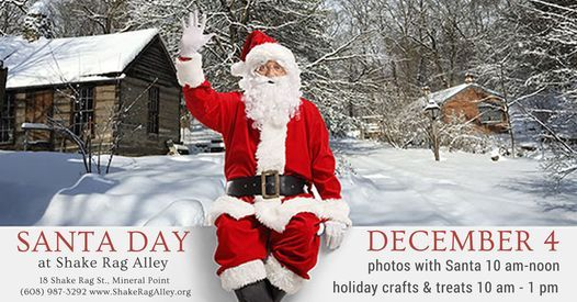 Santa Day, 4 December | Event in Mineral Point | AllEvents.in