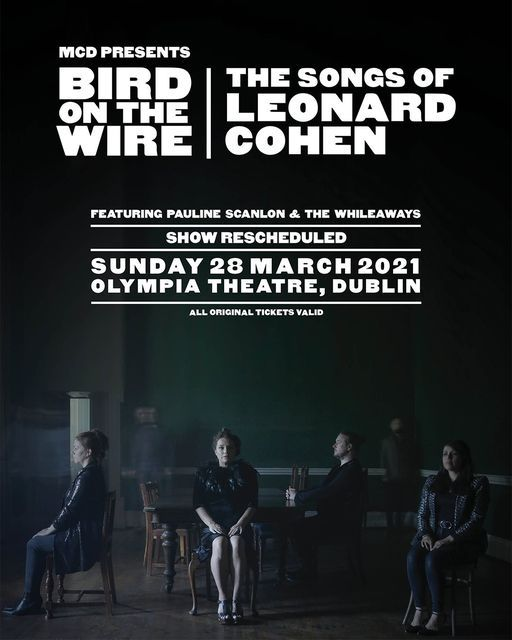 Bird on the Wire: The Songs of Leonard Cohen, 28 March | Event in Dublin | AllEvents.in