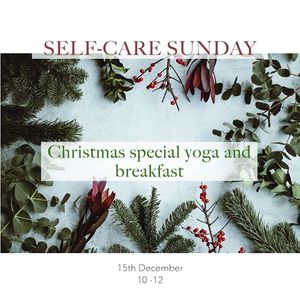Yoga and vegan breakfast Christmas special - SOLD OUT