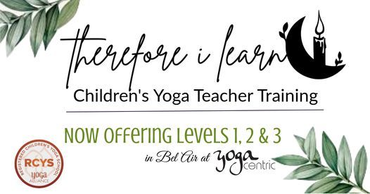 20 hour Children's Yoga Teacher Training, 22 May | Event in Bel Air | AllEvents.in