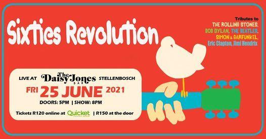 The Sixties Revolution Tribute Show, 25 June | Event in Eersterivier | AllEvents.in