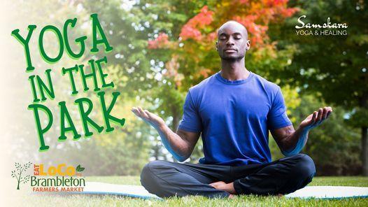 Yoga in the Park Community Yoga with Samskara Yoga & Healing