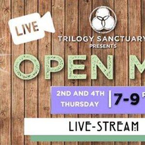 Livestream Open Mic Night