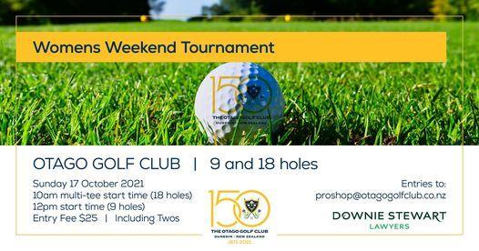 Otago Golf Club Women's Weekend Tournament | Event in Dunedin | AllEvents.in