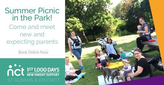 NCT Summer Picnic in the Park, 29 July | Event in Saint Albans | AllEvents.in