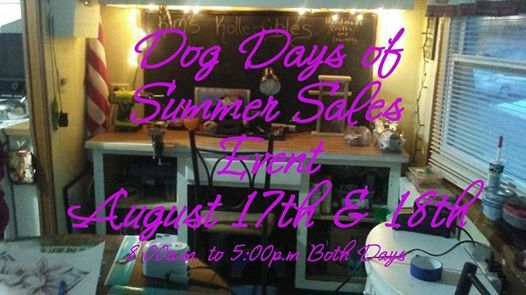 Dog Days of Summer Sales Event