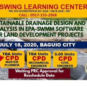 WEBINAR-Sustainable Drainage Design and Analysis in Epa-Sw