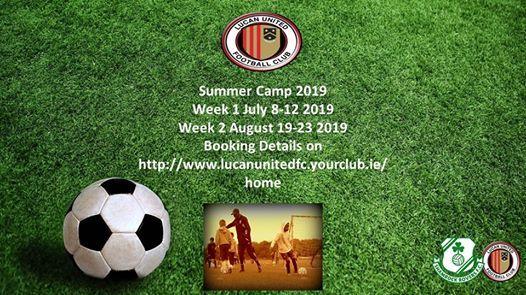 Lucan United Summer Camp 2019 (week2)