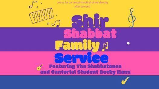 Shir Hanukkah Family Service and Dinner