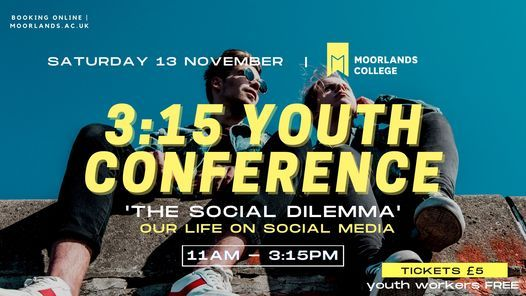 3:15 Youth Conference, 13 November | Event in Sopley | AllEvents.in