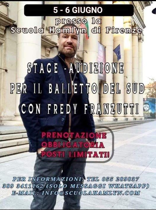 Stage/Audizione danza Balletto del Sud di F. Franzutti, 5 June | Event in Florence | AllEvents.in