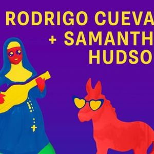 Rodrigo Cuevas  Samantha Hudson en Pop Caac Sevilla